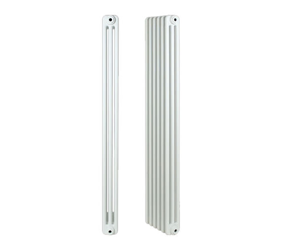 Apollo Roma Horizontal 3 Column 17 Section Steel Radiator 400mm Height - 21 - 35 - 30 Section Optional