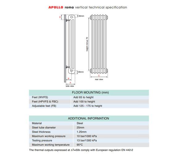 Technical drawing QS-V35416 / 3C20H500