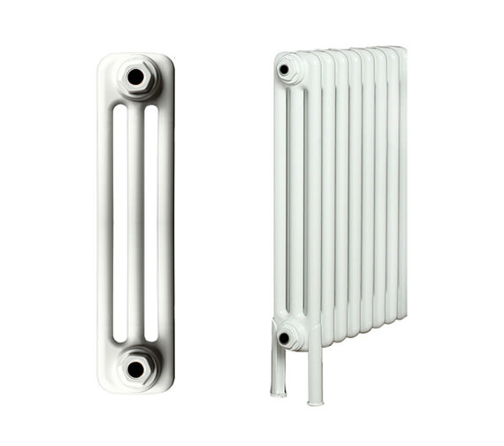 Apollo Roma 30 Section 3 Column Radiator Welded Feet 1400 x 600mm