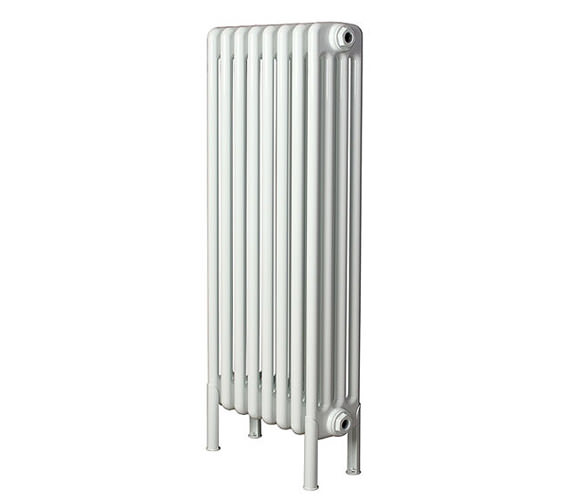 Apollo Roma 25 Section 4 Column Radiator Welded Feet 1200 x 300mm