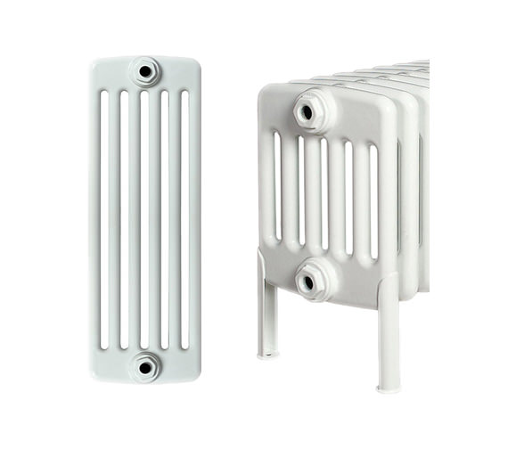 Apollo Roma 30 Section 6 Column Radiator Welded Feet 1400 x 300mm