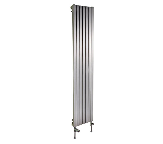 Additional image of Apollo Ferrara 1000mm Height Stainless Steel Radiator