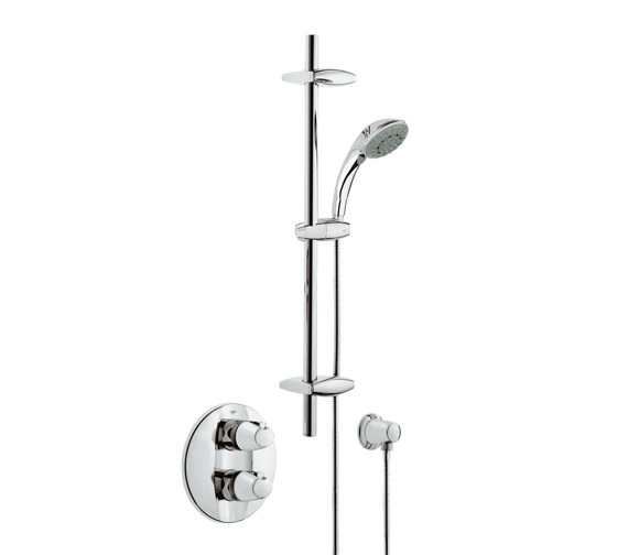 Grohtherm 3000 BIV Thermostatic Shower Mixer With Kit - 34193000