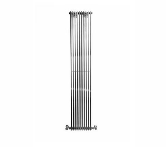 Apollo Rimini Straight Single Tube-on-Tube Radiator 500x1800mm Chrome