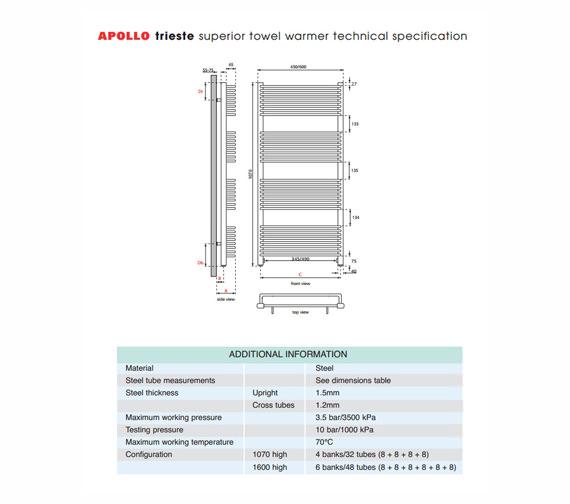 Technical drawing QS-V35568 / TWSC6W1070