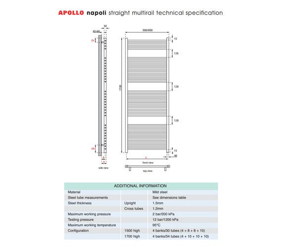 Technical drawing QS-V35618 / ASC5W1700