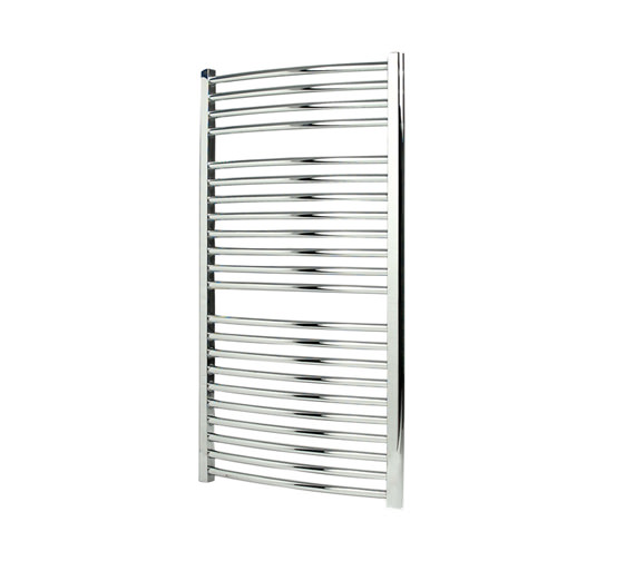 Apollo Napoli 500mm Wide White Curved Multirail Towel Radiator