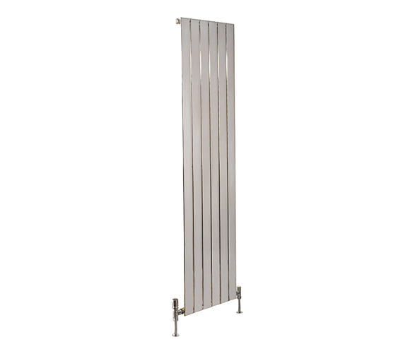 Apollo Capri 1800mm High Vertical Single Panelled Radiator White - Available Widths 300 - 450 - 600mm