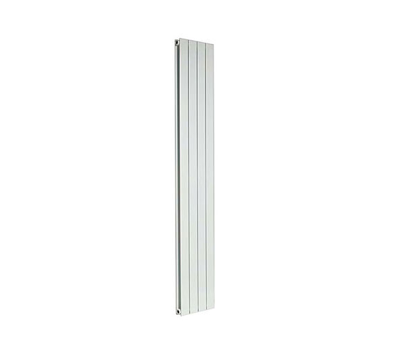 Apollo Capri Vertical Double Panelled Radiator White 600 x 1400mm