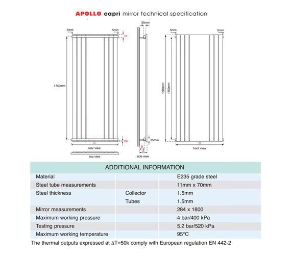 Technical drawing QS-V35666 / EC18H6S