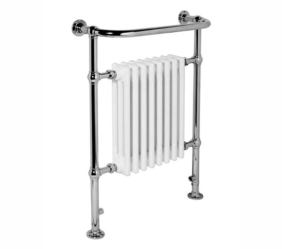 Apollo Ravenna Traditional Towel Rail Chrome 500 x 952mm - CR4