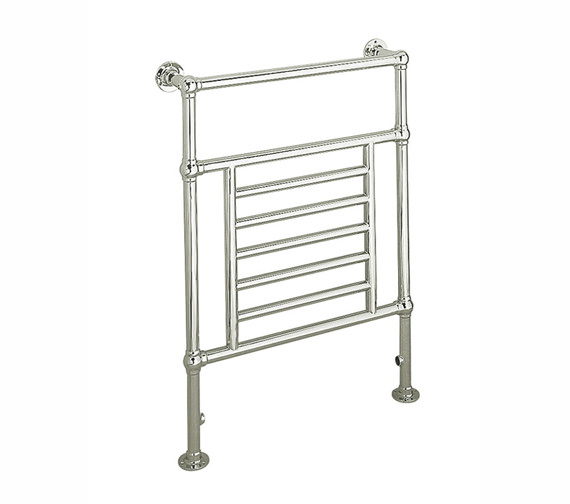 Apollo Ravenna Chrome Traditional Towel Rail 695mm x 955mm - PTA6