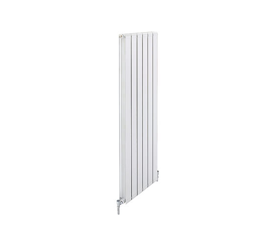 Apollo Modena Vertical Aluminium Radiator 640mm x 1442mm - FALV14H8S