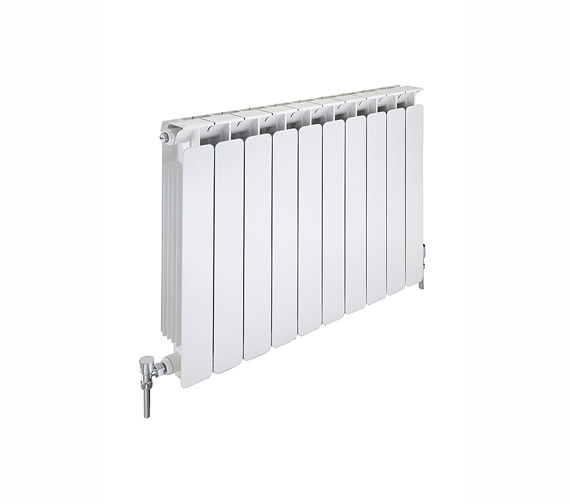 Apollo Modena Flat Aluminium Radiator 680mm x 640mm - 8 Section