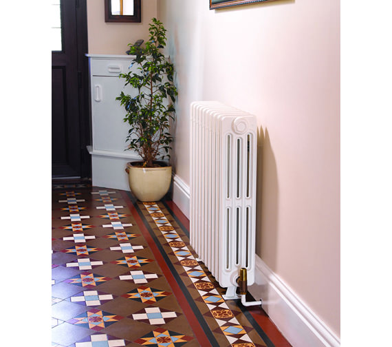 Additional image of Apollo Firenze 10 Sections 4 Column Cast Iron Radiator 880mm