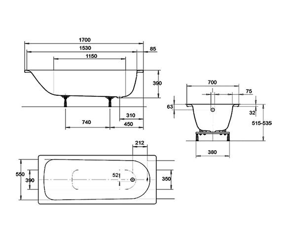 Technical drawing QS-V35924 / 119820000000
