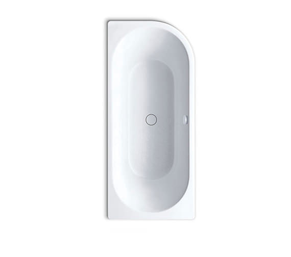 Kaldewei Centro Duo 137 Oval Steel Bath Right Hand 1800 x 800 - NTH