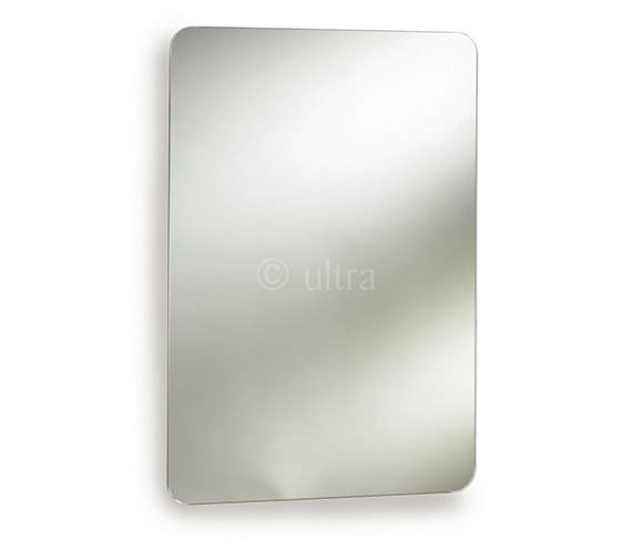 Ultra Austin Stainless Steel Mirrored Cabinet 460 x 660mm - LQ302