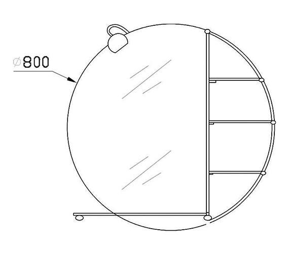 Technical drawing QS-V25492 / BEO-2170
