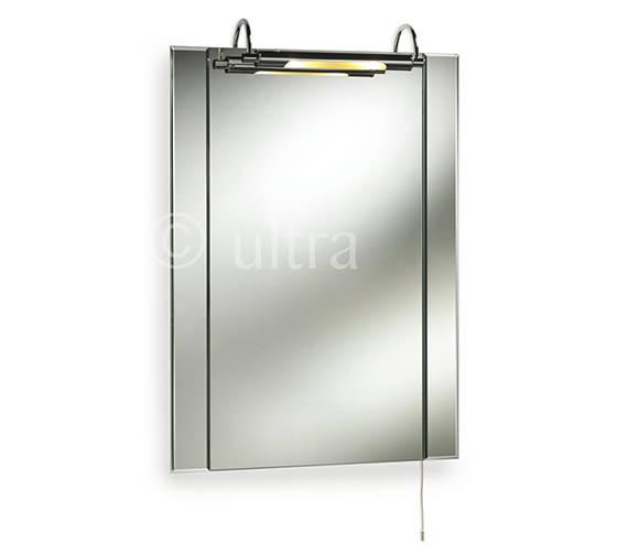 Ultra Pallas Bathroom Mirror With Light 550 x 720mm - LQ305
