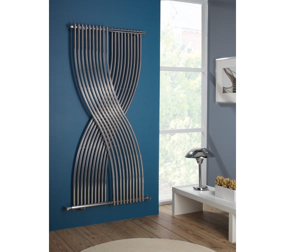 Gemini Crossover Style Radiator 796 x 1760mm Chrome - GEW 01 1 176079
