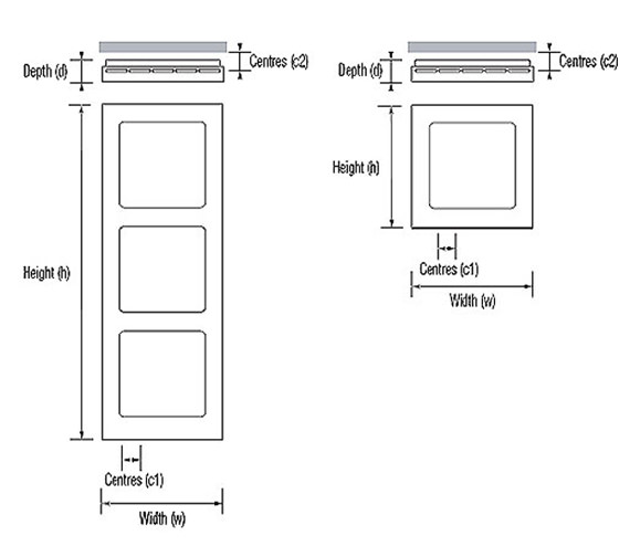 Technical drawing QS-V36032 / MAK 04 1 057057