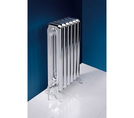 MHS Vintage Chrome Designer Radiator 392 x 890mm - VIN 02 1 081036