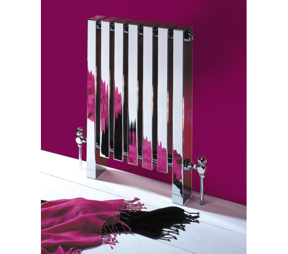 MHS Tekne Chrome Designer Radiator 510 x 800mm - TK5 02 1 080047