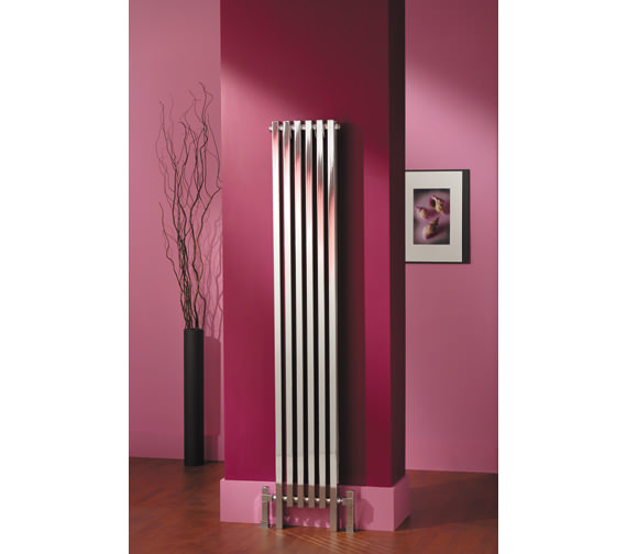 Additional image of MHS Tekne Chrome Designer Radiator 510 x 800mm - TK5 02 1 080047