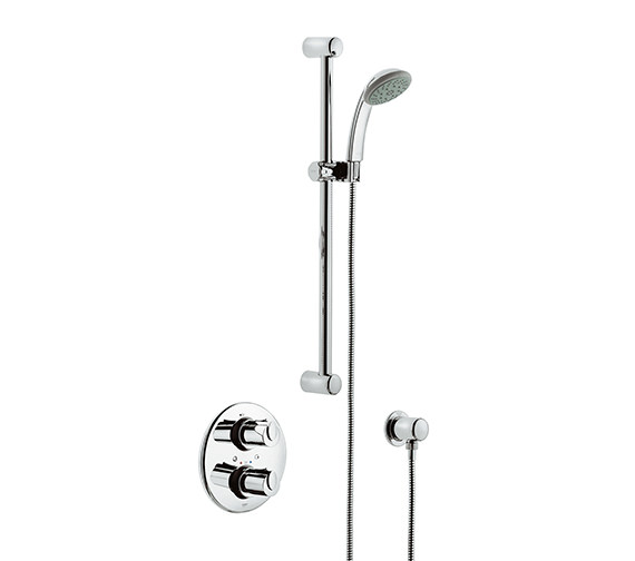 Grohtherm 1000 BIV Thermostatic Shower Mixer With Kit - 34162000