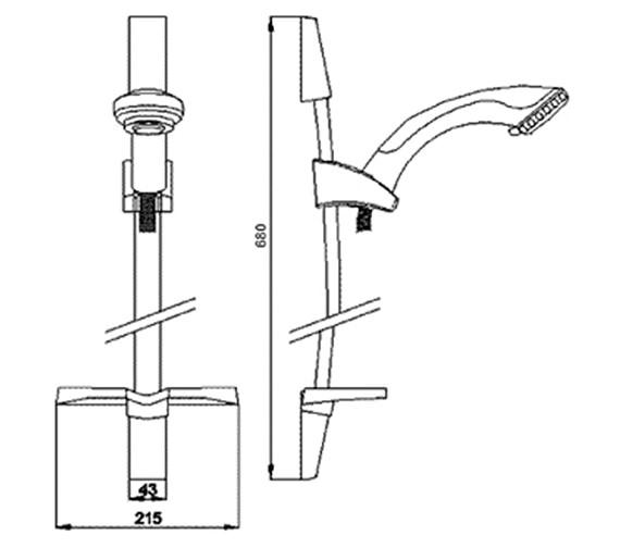 Technical drawing QS-V36138 / A3273A