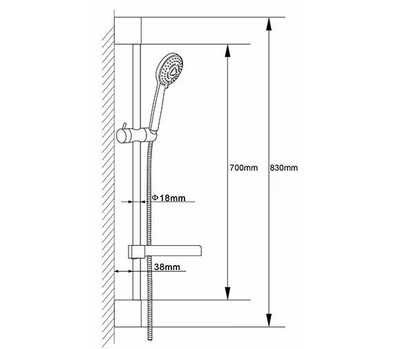 Technical drawing QS-V36161 / A3041