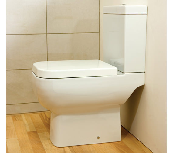 Additional image of RAK Series 600 Close Coupled WC Pack With Soft Close Seat 600mm