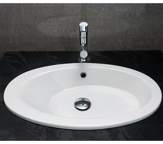 Additional image of RAK Infinity Under Mounted Inset Basin 550mm - INFUCBAS