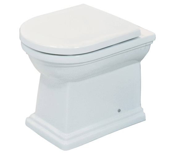 RAK Empire Back To Wall WC Pan With Standard Seat 540mm