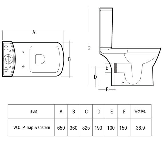 Technical drawing QS-V36308 / SUMPAKSC