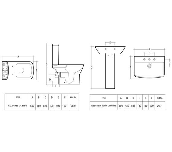 Technical drawing QS-V36310 / SUMPAKSC