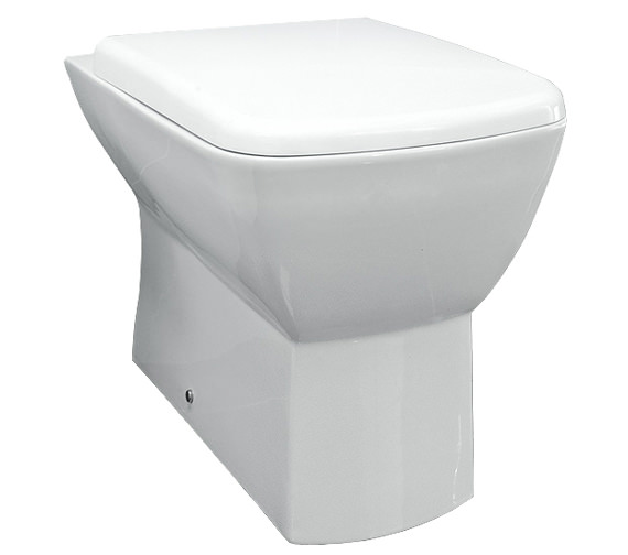 RAK Summit Back To Wall WC Pan With Soft-Close Toilet Seat 540mm