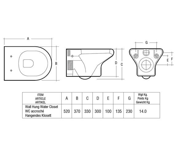 Technical drawing QS-V36337 / COMPANWH/SC