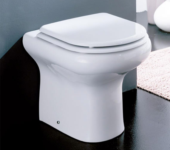 Additional image of RAK Compact Back To Wall WC Pan With Soft-Close Toilet Seat 510mm