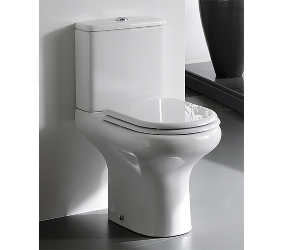 Additional image of RAK Compact Close Coupled WC With Soft Close Seat 615mm