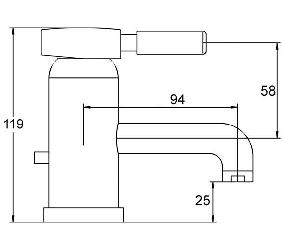 Technical drawing QS-V36359 / PK365
