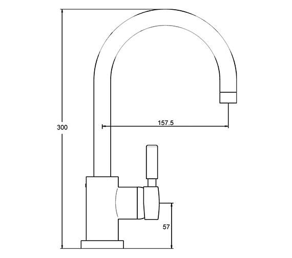 Technical drawing QS-V36365 / PK380