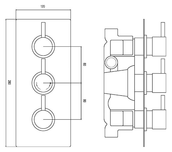 Technical drawing QS-V36379 / QUEV53