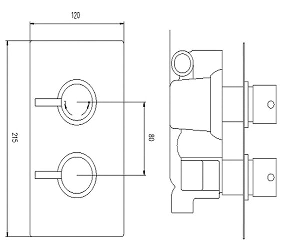 Technical drawing QS-V36381 / QUEV51