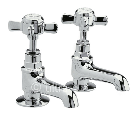 Ultra Beaumont Pair Of Basin Taps - I321XE