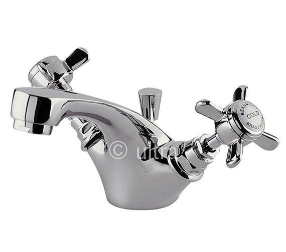 Ultra Beaumont Mono Basin Mixer Tap With Pop-Up Waste - I345X