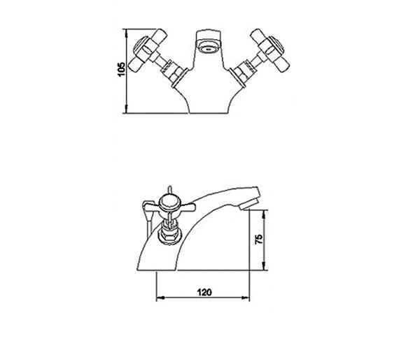 Technical drawing QS-V36561 / I345X