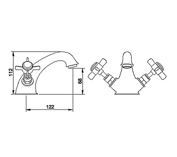 Technical drawing QS-V36566 / I305X
