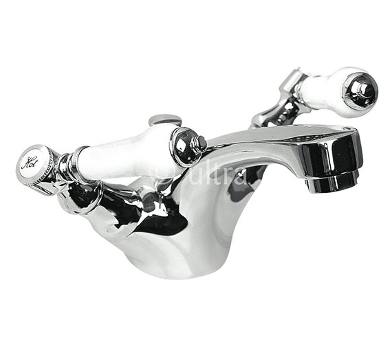 Ultra Bloomsbury Mono Basin Mixer Tap With Pop-Up Waste - XM305